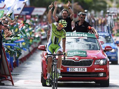 Alessandro De Marchi konnte sich den Etappensieg sichern.