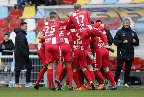 Football: Differdingen wins top fixture of the weekend, Dudelange stays in the lead