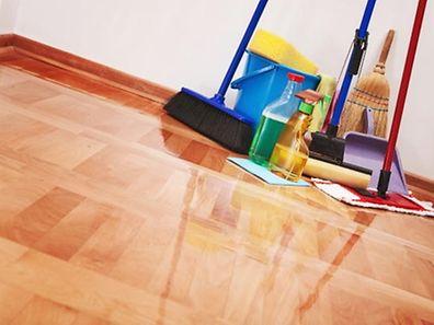 Hausarbeit, Putzutensilien (Foto: Shutterstock)