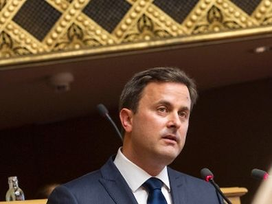 5.5. IPO / Etat de la Nation / Chambre des Deputes / Xavier Bettel Foto: Guy Jallay