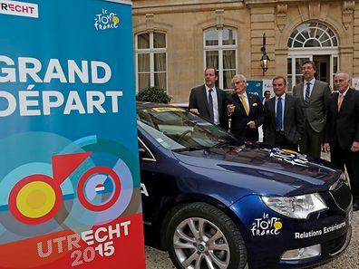 Le Tour de France 2015 s'élancera le samedi 4 juillet depuis Utrecht.