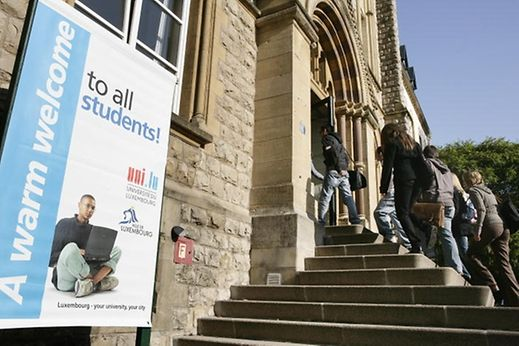 The University of Luxembourg provides low-cost accommodation, a canteen and support services to help students manage their finances