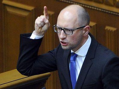 Mit den nun ausgehandelten Konditionen müsse sich auch Russland abfinden, fordert Regierungschef Arseni Jazenjuk.