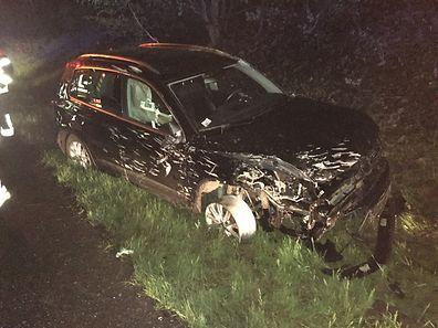 Das Auto hatte nach dem Unfall nur noch Schrottwert.