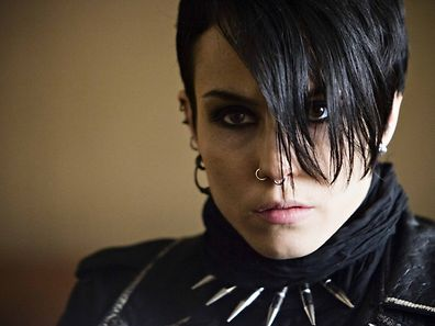 Millenium character Lisbeth Salander, played by Noomi Rapace in Swedish screen adaption.