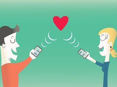 """""""Eine Online-Beziehung ermöglicht vorerst noch auf Distanz zu bleiben"""", so Psychologe Serge Goergen."""