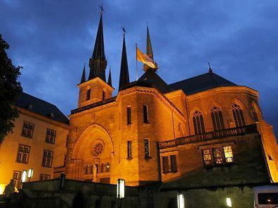 10.5.Nacht der Kathedralen / Kathedrale Luxemburg / Foto: Guy Jallay