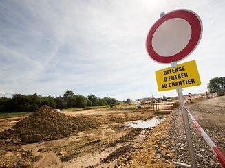 Ban de Gasperich - Travaux, Foto Lex Kleren