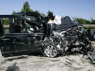 Unfall auf der N7 zwischen Ingeldorf und Friedhaff.  (Archivfoto: Serge Waldbillig)