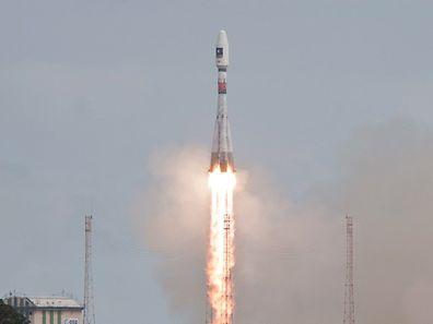 Die Sojus-Rakete mit den beiden Satelliten an Bord war am Freitag ins All gestartet.