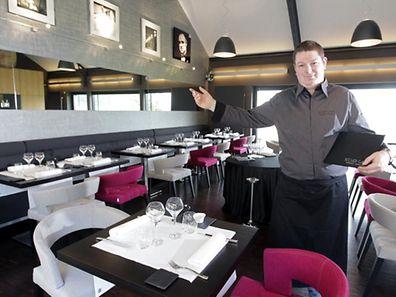 Hier noch mit Sternekoch Jérémmy Parjouet: das Restaurant Becher Gare.