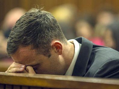 Bei Oscar Pistorius flossen heute erneut Tränen.