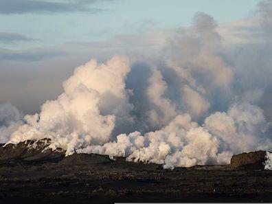 Der Bárdarbunga hielt die isländischen Behörden in den vergangenen Tagen auf Trab.