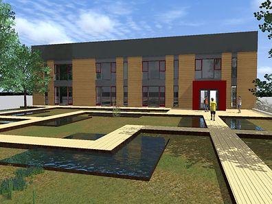 Die Oberkorner Einwohner werden ihr einstiges Schwimmbad kaum wiedererkennen, wenn die Umbauarbeiten bis zum April 2016 abgeschlossen sein werden.