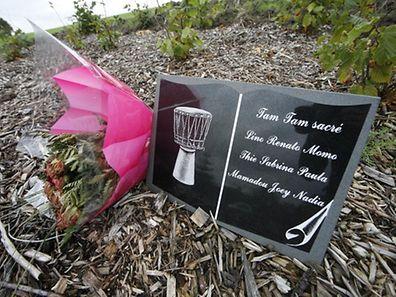 In Niederanven erinnert eine Gedenkstätte an die Opfer des Flugzeugabsturzes.