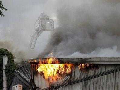 Das Lokal war bei dem Brand völlig zerstört worden.