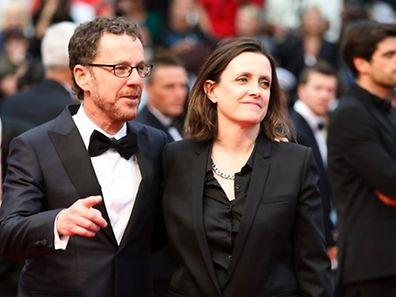 Le réalisateur américain et président du jury du festival, Ethan Coen et son épouse, Tricia Cooke, productrice.