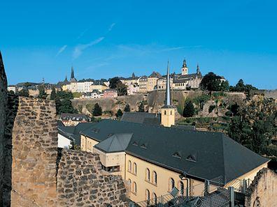 La fortesse de la ville de Luxembourg.