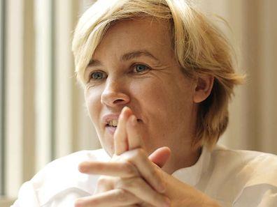"""Hélène Darroze a remporté mercredi le prix Veuve Clicquot 2015 de """"Meilleure femme chef du monde"""""""
