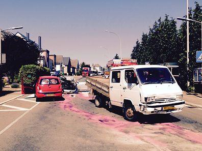 Trois véhicules ont été impliqués dans l'accident dans la rue principale de Bascharage qui est restée fermée durant une heure.