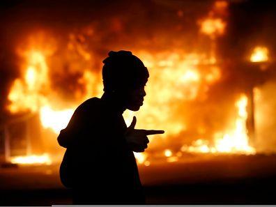 In Ferguson hatte es heftige Proteste nach einem Geschworenen-Gerichturteil gegeben.