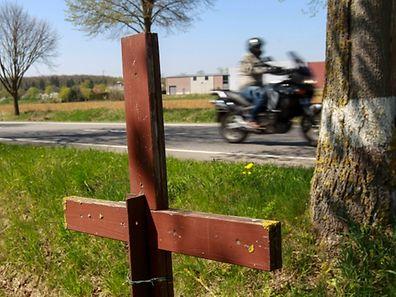 23.4. Tödliche Motorradunfälle / UnfallStatistik Motorrad / foto: Guy Jallay