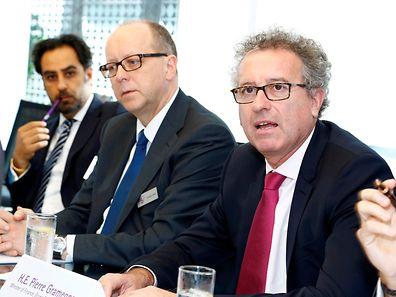Pierre Gramegna weihte die neue Private-Banking-Zweigstelle der BIL in Dubai ein.