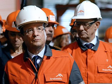 Le président français, François Hollande, revient pour la troisième fois en trois ans à Florange, où ArcelorMittal met en oeuvre les promesses de l'accord de novembre 2012.
