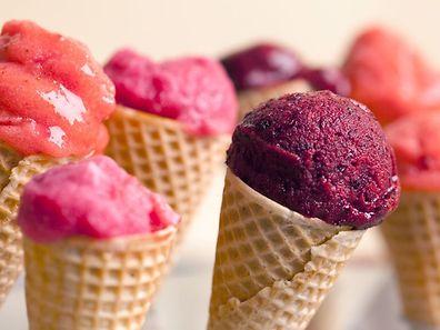 Les glaces obtenues seraient également moins riches en acides gras saturés, et moins caloriques.