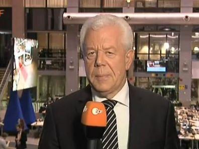 """Letzter Auftritt von Udo van Kampen im """"heute journal"""" vom Donnerstag, 19. Dezember 2014."""