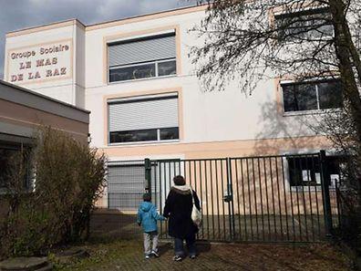 Le groupe scolaire du Mas de la Raz à Villefontaine, près de Lyon.