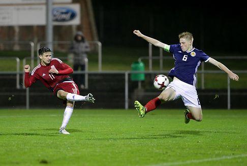 Qualifications pour l\'Euro 2018: La douche écossaise pour les U19