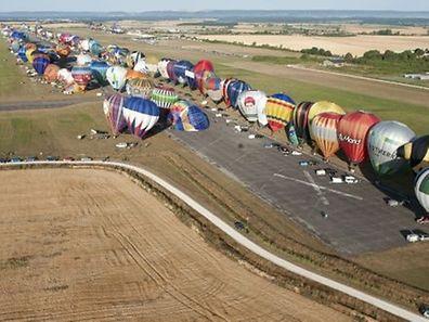 Le Lorraine Mondial Air Ballons tient ses promesses. Le spectacle est grandiose à Chambley.