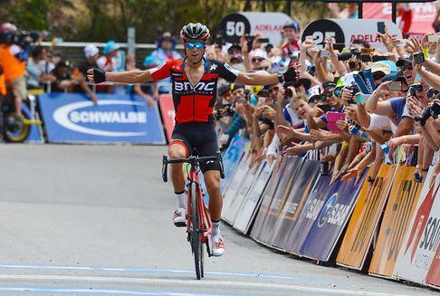 5e étape du Tour Down Under: Porte s\'impose au sommet de Willunga Hill