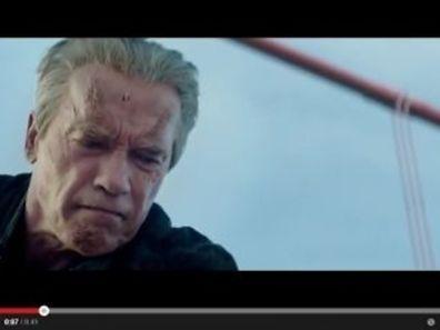 "Arnold Schwarzenegger reprend son rôle du cyborg dans ""Terminator: Genisys""."