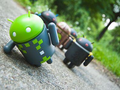 Bringt es ein Androide nicht mehr, steht der nächste schon bereit.