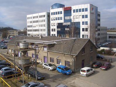 Vor dem Paul-Wurth-Gebäude unterhalb des nach Bonneweg führenden Pont Buchler am hauptstädtischen Bahnhof soll die Fixerstube entstehen. -