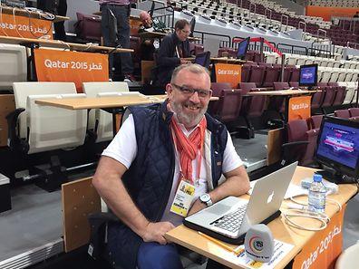 Bei der WM in Katar vor Ort: Marc Gatti gibt einen persönlichen Einblick.