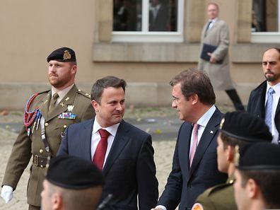 Der portugiesische Premierminister Pedro Passos Coelho ist am Mittwoch zu einem offiziellen Besuch in Luxemburg eingetroffen.