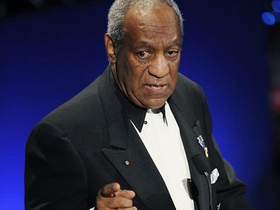 (FILES) Entertainer Bill Cosby speaks at the Jackie Robinson Foundation annual Awards Dinner in this March 16, 2009, file photo in New York