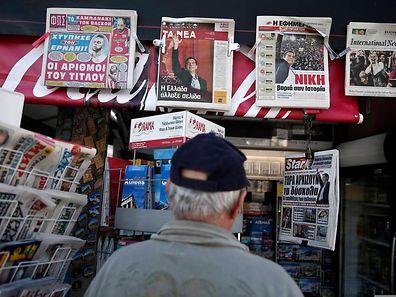Die internationale Presse befasst sich mit den Konsequenzen der Wahlen in Griechenland.