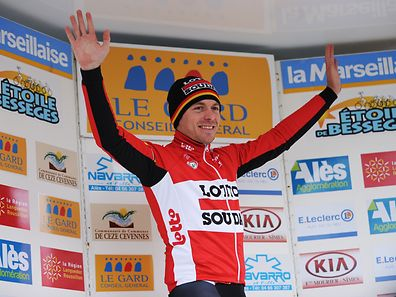 Kris Boeckmans gewann im Frühjahr eine Etappe der Etoile de Bessèges.