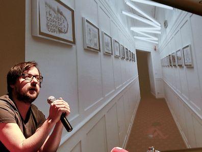 22.4. Kultur / Mudam / Pres Projet Biennale Venise / Filip Markiewicz , Paradiso Lussemburgo Foto: Guy Jallay