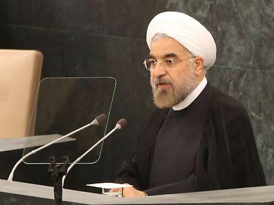 Der iranische Präsident Hasan Ruhani verurteilt Boko Haram.