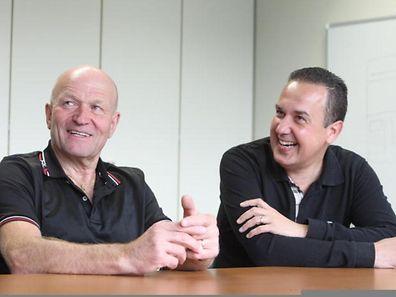 Alex Pecqueur et Pascal Carzaniga.