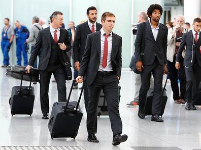 Philipp Lahm will mit Bayern weitere drei Punkte einfahren.