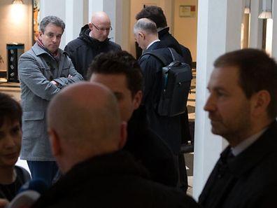 Bildungsminister Claude Meisch (hier nach der ersten Schlichtungssitzung) ist verärgert über die Gewerkschaften.