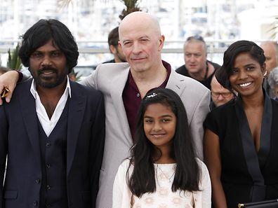 O senhor Dheepan e a família foram a Cannes