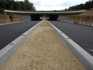 Die Arbeiten an der Nordstraße werden im nächsten Herbst beendet sein.