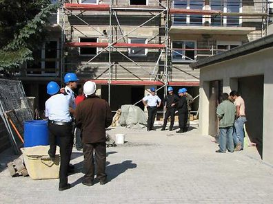 Among ITM's duties are checks at construction sites to ensure worker safety and rule out illegal employment